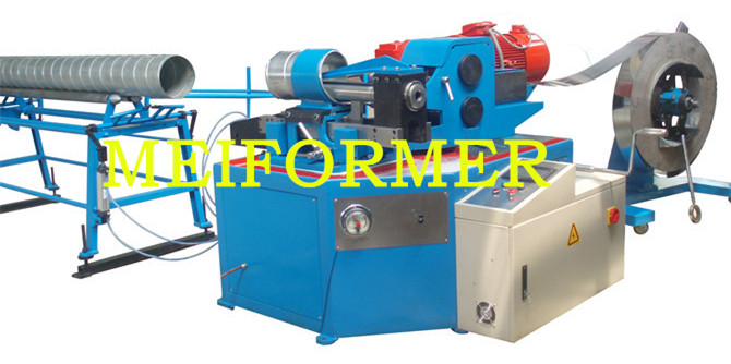 Spiral Tubeformer Tool Model 1500 Round Duct Machines